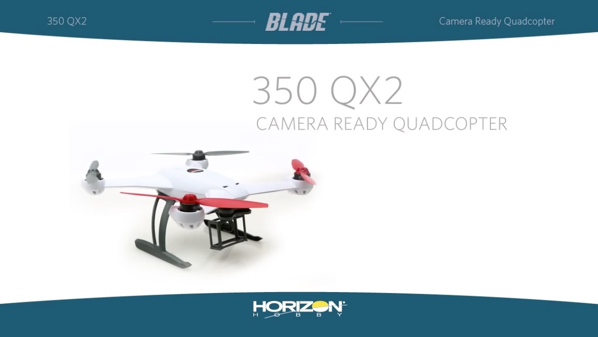 Blade 350 QX2 with SAFE Technology RTF and BNF