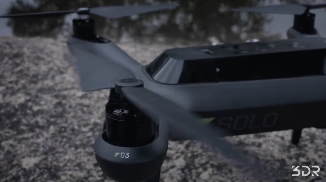 3DR Solo is One Smart Drone