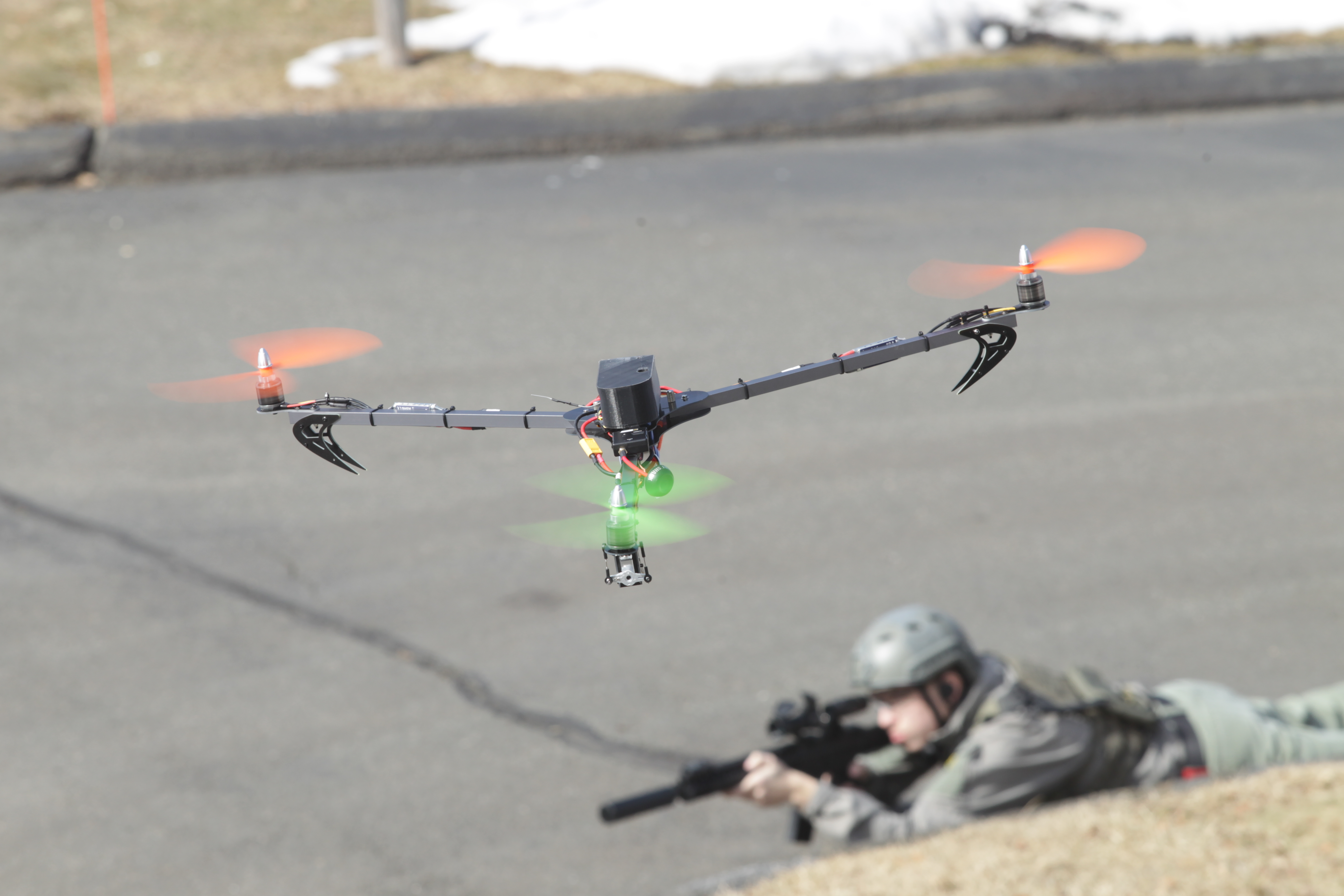 An Aerial Recon Multirotor for Airsoft Games