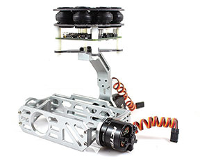 Figure 4. This is a typical two-axis brushless gimbal that is available for GoPro and other small cameras.