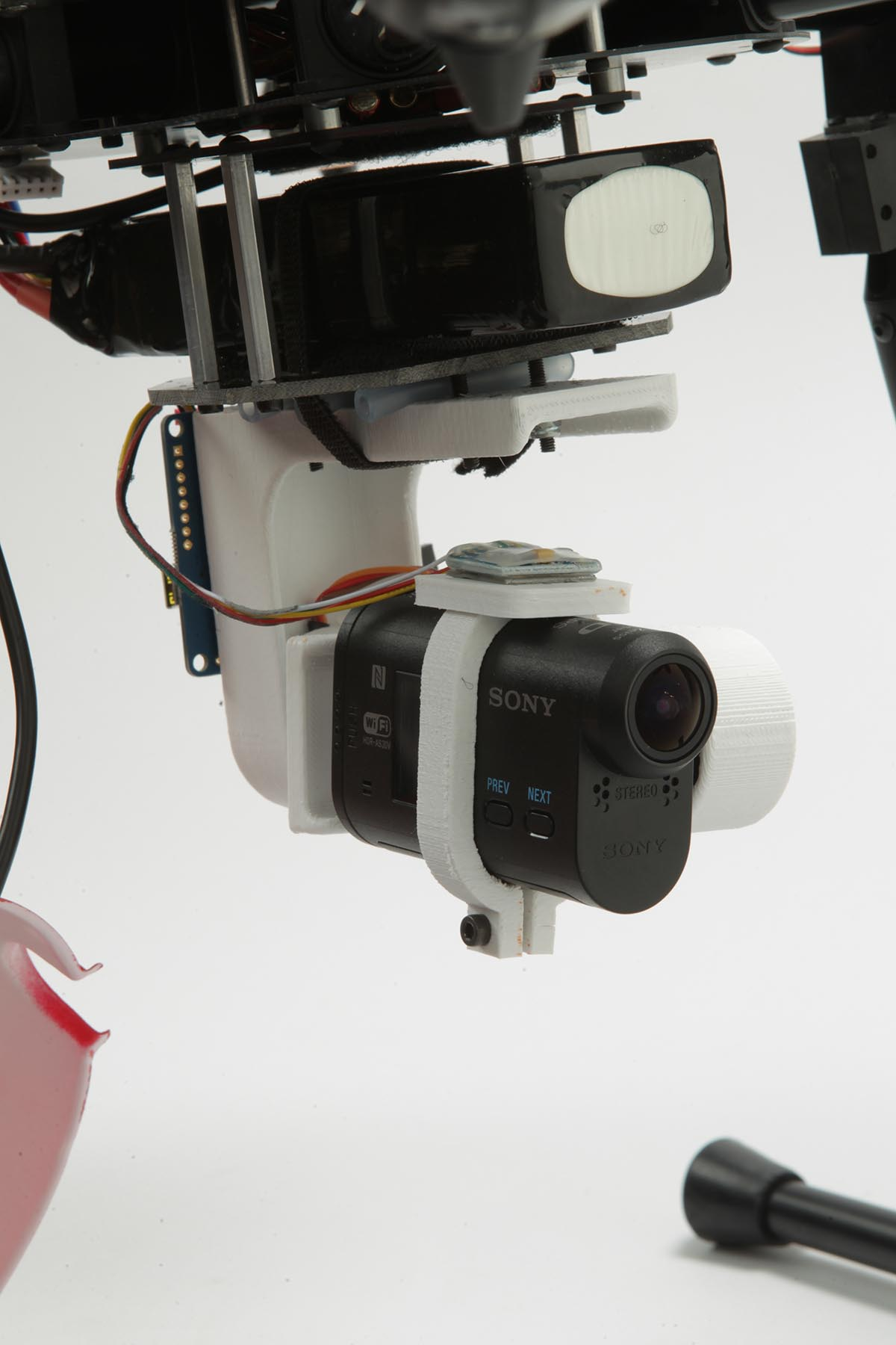 Sony Action Cam 3D Printed Brushless Gimbal