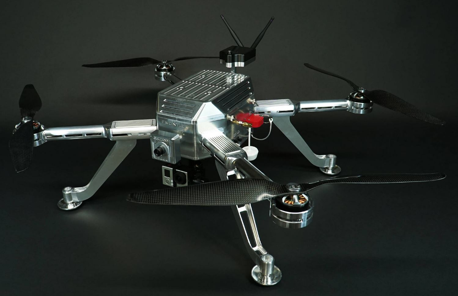 Frontier Galaxy 7000 Series Aluminum Quadcopter