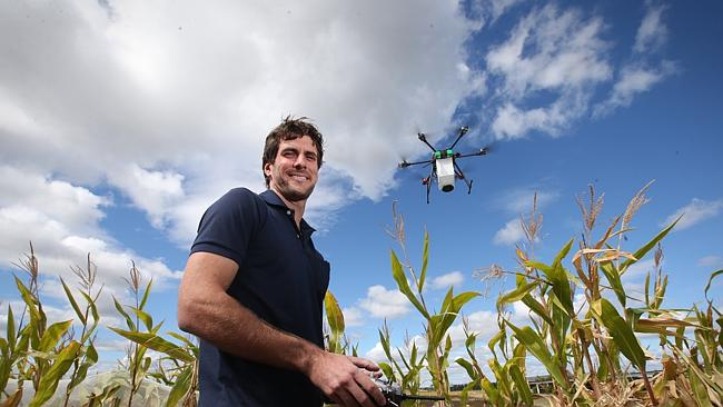 Drone Treats Infected Crops; Can Help Farmers Cut Costs and Labor
