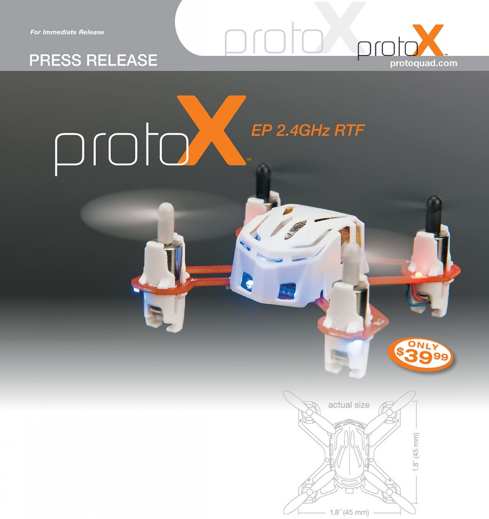 Estes Proto-X Goes White - Press Release