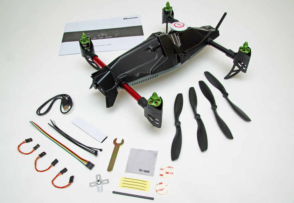 HobbyKing Quanum Venture FPV Deluxe Quad-Copter with DJI, FatShark, Afro, and Multistar Components