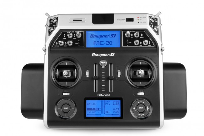 5 Reasons Why the Graupner MC-20 Radio System is Great for Multirotors