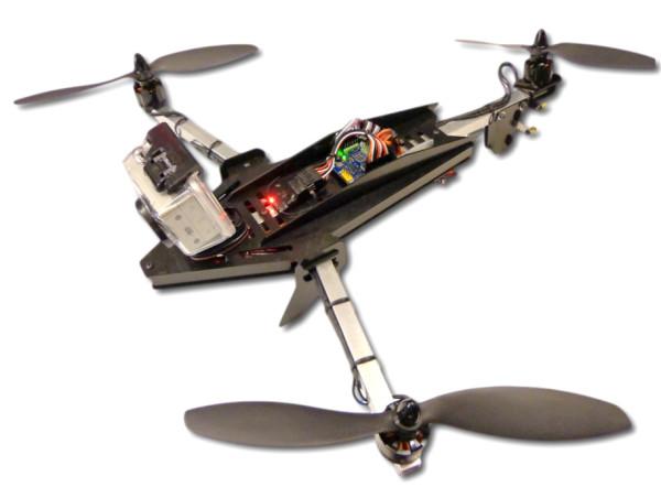 cCopter 450mm Tri-Copter