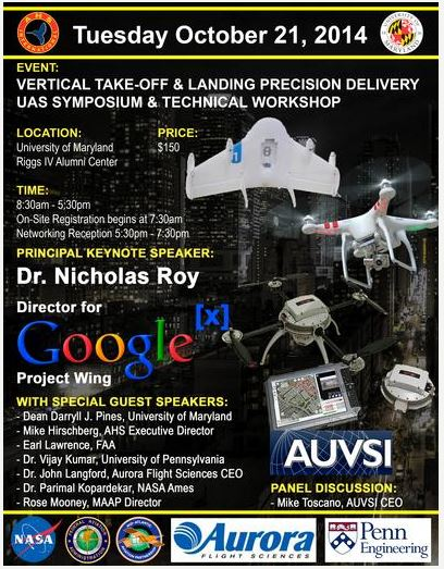 Commercial Unmanned Aircraft Systems Symposium October 21, 2014