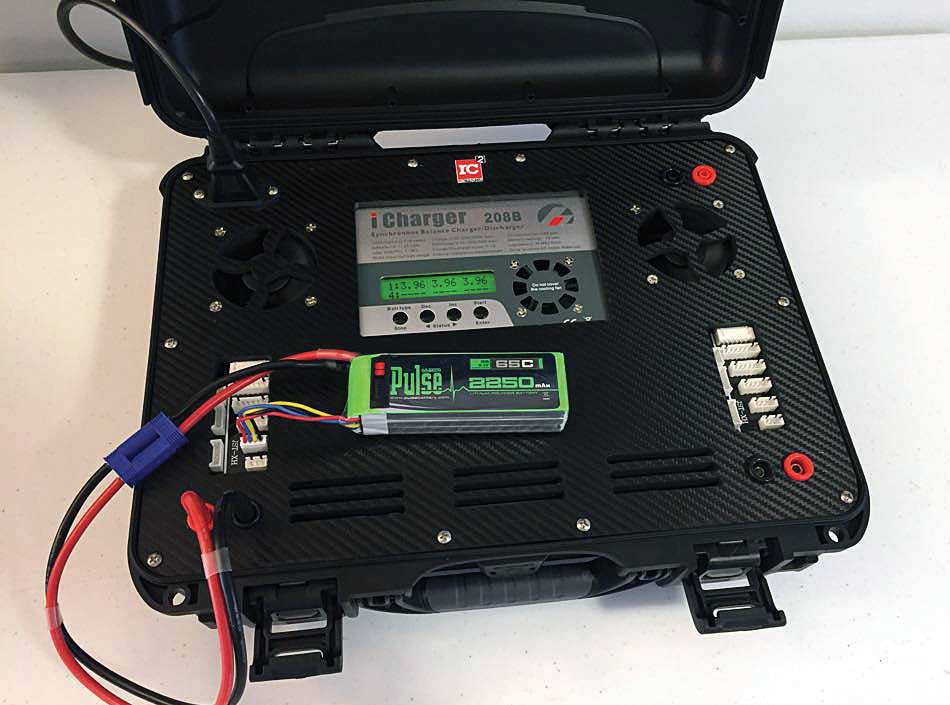 Rotor Craft Rc Charge Case Dont Be Left In The Dark