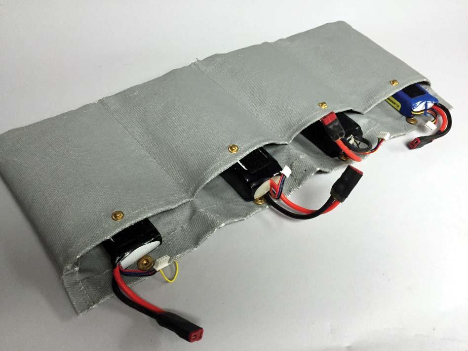 sende lithium batterier på fly