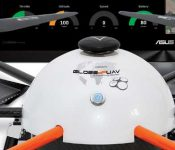 The GUAV7, a Long Distance Drone Operable From a PC Through 4G Networks