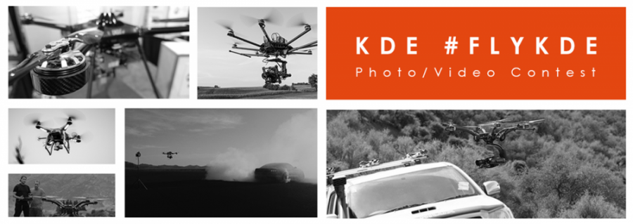 KDE Direct Drone Photo Contest Main