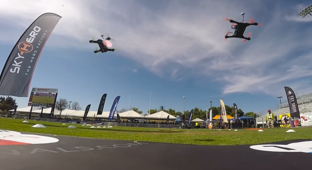 GoPro Signs as Presenting Sponsor of the 2016 U.S. National Drone Racing Championships
