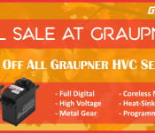 Graupner Wants You to Get Ready for the Building Season With Their 15% Off Servo Sale and NEW Products