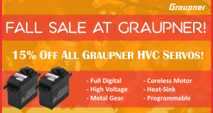 Graupner Building Season Sale main
