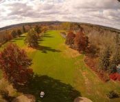VIDEO: Drone Shenanigans On A Golf Course