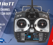 Graupner mz-18 9 Channel 2.4GHz HoTT Color TFT Transmitter