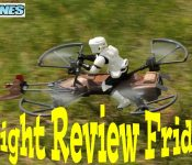 FLIGHT REVIEW FRIDAY: Air Hogs Star Wars Imperial Aratech 74-Z Speeder Bike Drone
